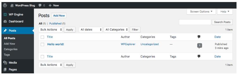 resetear wordpress 2020 tutorial paso a paso