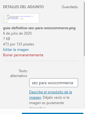 seo para wocoommerce