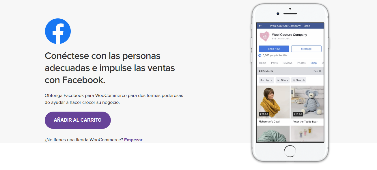 conectar woocommerce a instagram