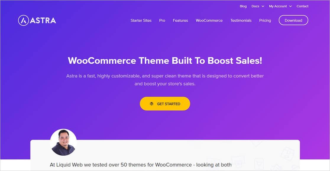 astra-woocommerce los mejores themes para wordpress woocommerce