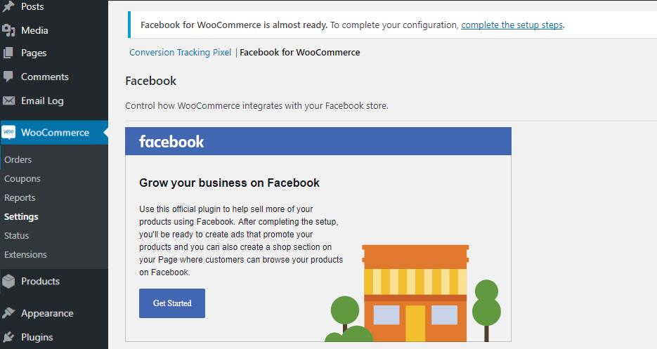 integrar woocommerce con Facebook 2020 guia woosync blog